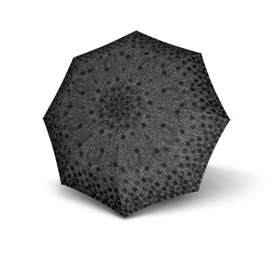 T200 Duomatic - Shirley Black Chevron Dots