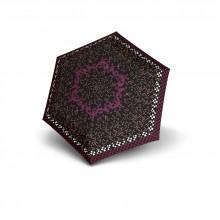 Flat Duomatic - Geometric Burgundy